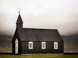 Black Church in the Gloom