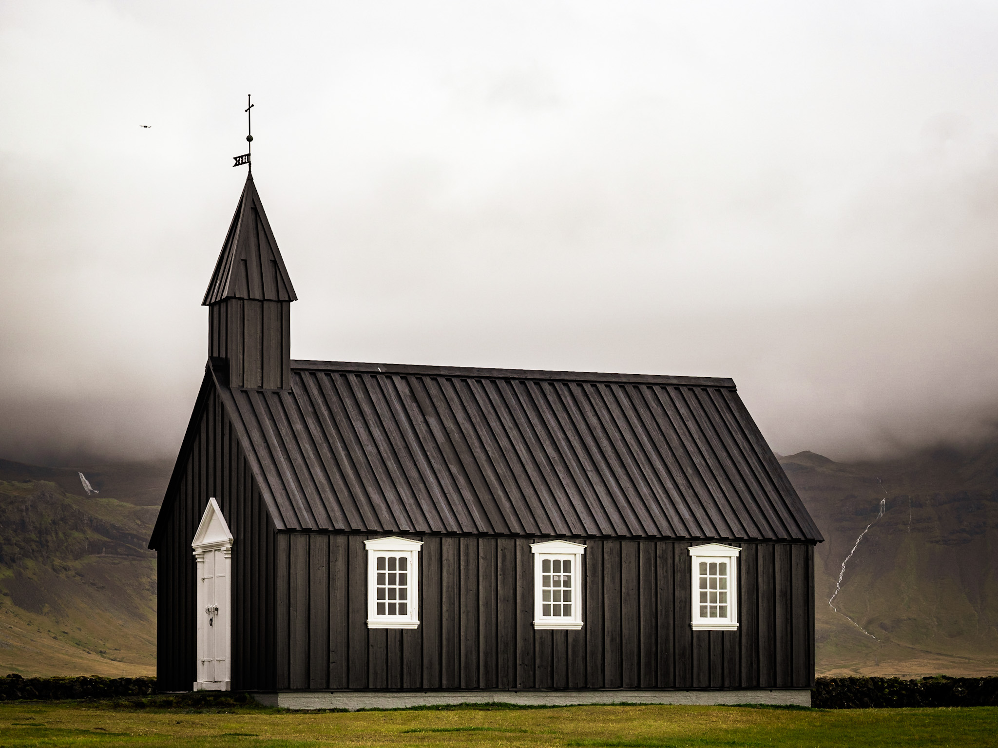 Black Church in the Gloom