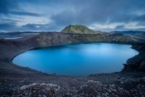 Bláhylur Blue Crater