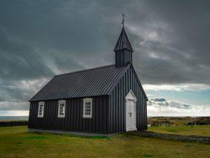 Dark Skies over the Black Church of Budir