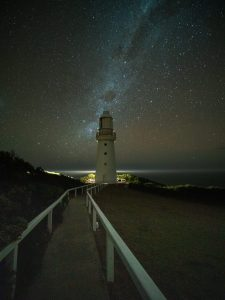 Milky Way over the Lightstation