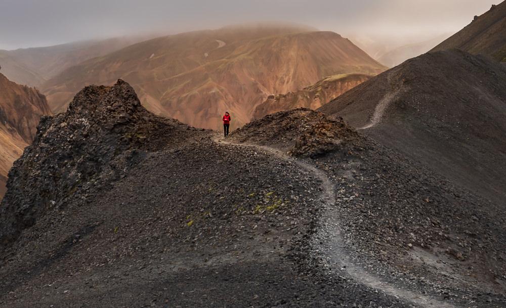 Hiking Blahnukur